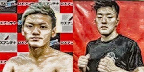 柳田龍彌 選手 vs 岡田達磨 選手