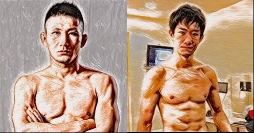 元谷友貴vs瀧澤謙太